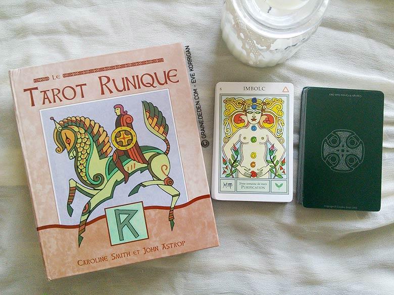 Le Tarot Runique de Caroline Smith - Graine d'Eden Tarots, Oracles divinatoires - Livres de développement personnel, spritualité
