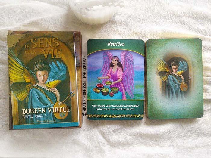 Les cartes Oracle Le Sens de la Vie de Doreen Virtue - Graine d'Eden Développement personnel, spiritualité, guidance, oracles et tarots divinatoires - La bibliothèque des Oracles