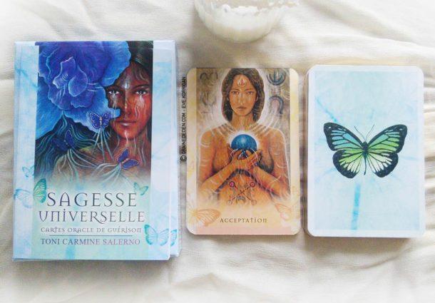 Review des cartes Oracle Sagesse Universelle de Toni Carmine Salerno