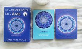 Review des cartes Oracle Le Cheminement de l'Âme de James Van Praagh