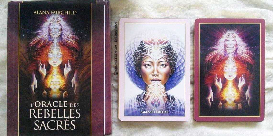L'Oracle des Rebelles Sacrés de Alana Fairchild - Graine d'Eden Développement personnel, spiritualité, guidance, oracles et tarots divinatoires - La bibliothèque des Oracles