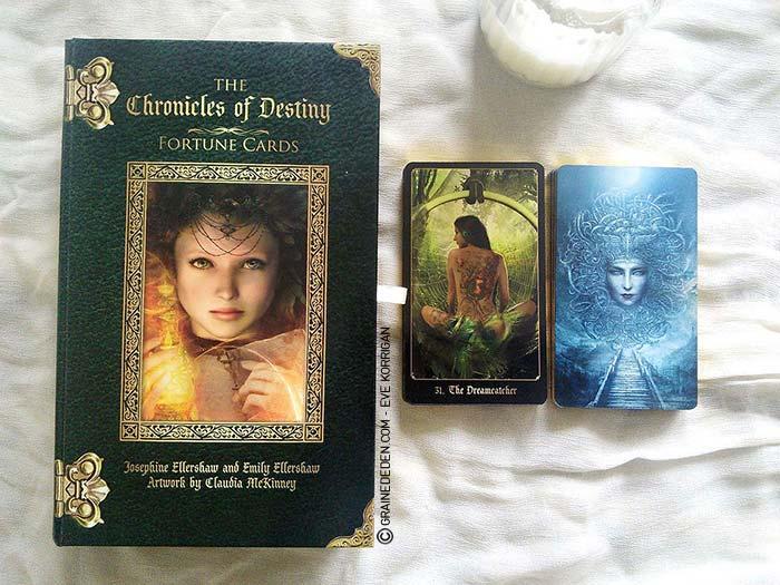 The Chronicles of Destiny Fortune Cards de Josephine et Emily Ellershaw - Graine d'Eden Développement personnel, spiritualité, guidance, oracles et tarots divinatoires - La bibliothèque des Oracles