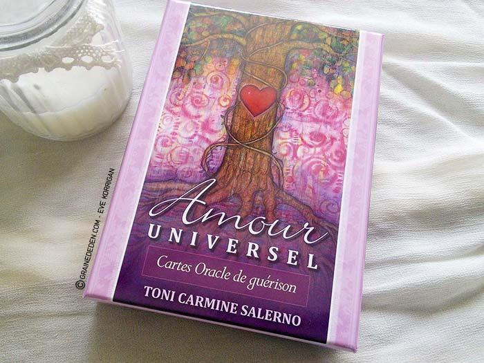 Amour Universel - Cartes Oracle de guérison de Toni Carmine Salerno -  Graine d Eden 75105f037c81