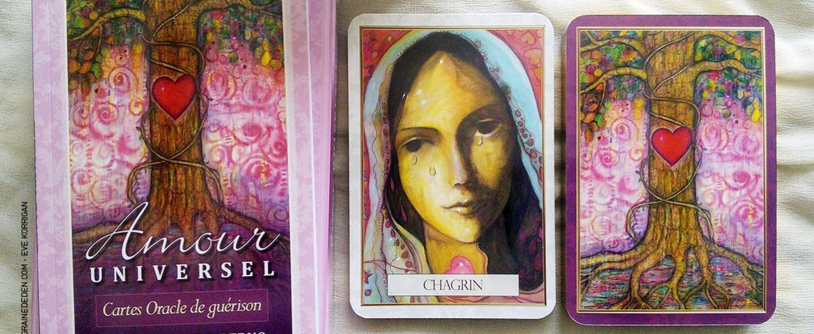 Review des cartes Oracle Amour Universel de Toni Carmine Salerno
