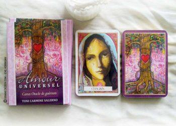 Amour Universel - Cartes Oracle de guérison de Toni Carmine Salerno - Graine d'Eden Développement personnel, spiritualité, guidance, oracles et tarots divinatoires - La bibliothèque des Oracles