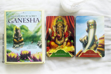Whispers of Lord Ganesha Oracle cards de Angela Hartfield