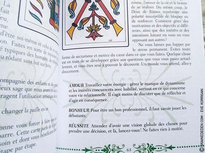 Le Tarot de Marseille de Johannes Fiebig et Evelin Buerger - Graine d'Eden Développement personnel, spiritualité, guidance, oracles et tarots divinatoires - La bibliothèque des Tarots
