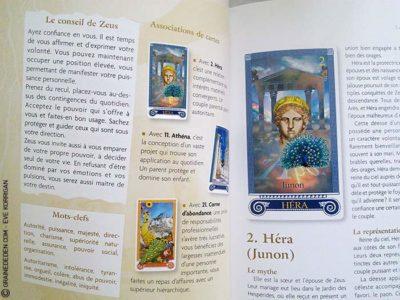 L'Oracle de l'Olympe de Emilie Porte et Véronique Taupelet - Graine d'Eden Développement personnel, spiritualité, guidance, oracles et tarots divinatoires - La bibliothèque des Oracles