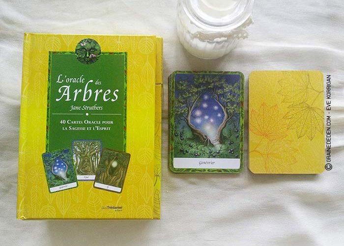 L'Oracle des Arbres de Jane Struthers - Graine d'Eden Développement personnel, spiritualité, guidance, oracles et tarots divinatoires - La bibliothèque des Oracles