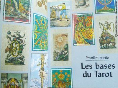 Review La Bible du Tarot de Sarah Bartlett - Graine d'Eden Développement personnel, spiritualité, guidance, livres, oracles et tarots divinatoires - La bibliothèque des Tarots