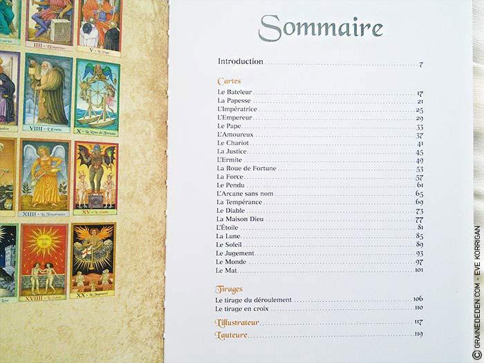 Le Tarot de Marseille de Emilie Porte et Jindra Čapek - Graine d'Eden Développement personnel, spiritualité, guidance, oracles et tarots divinatoires - La bibliothèque des Tarots