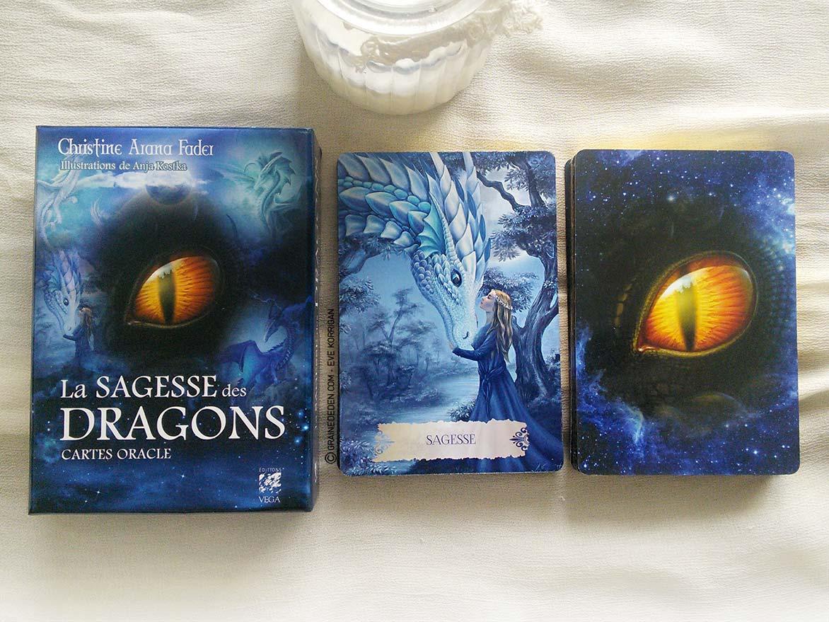 Les cartes Oracle La Sagesse des Dragons de Christine Arana Fader