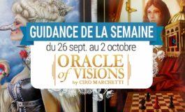 26 septembre au 2 octobre - Votre guidance de la semaine