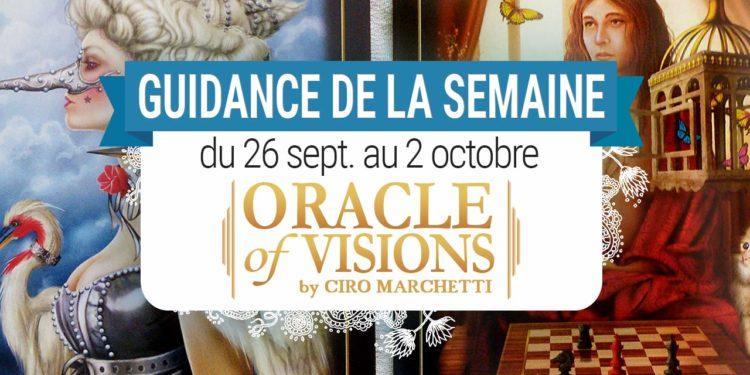 26 septembre au 2 octobre - Votre guidance de la semaine avec Oracle of Visions de Ciro Marchetti - Graine d'Eden Tarots et Oracles divinatoires - avis, review, présentations