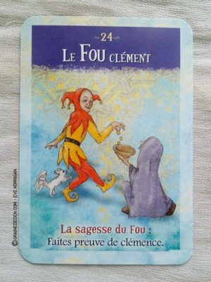 Les cartes Oracles La Sagesse du Fou de Sonia Choquette - Graine d'Eden Tarots et Oracles divinatoires - Présentation et reviews