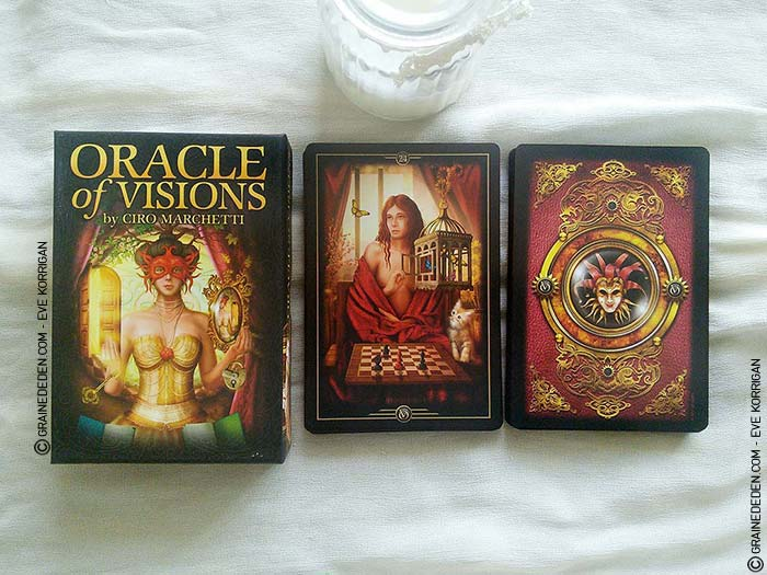 Oracle of Visions de Ciro Marchetti - Graine d'Eden Tarots et Oracles divinatoires - Présentation et reviews