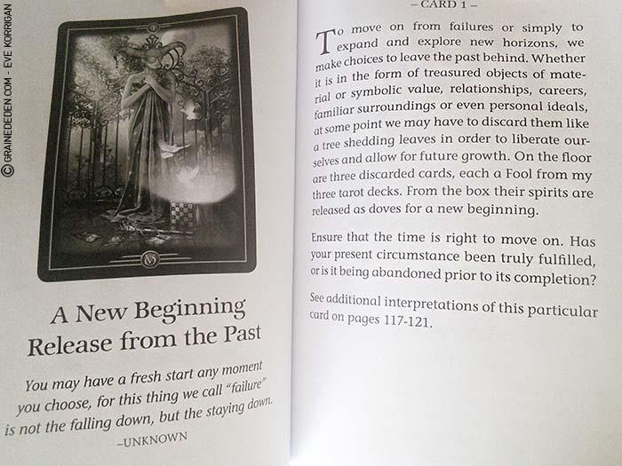 Oracle of Visions de Ciro Marchetti - Graine d'Eden Tarots et Oracles divinatoires - Présentation et reviews