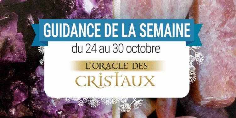 24 octobre au 30 octobre - Votre guidance de la semaine - L'Oracle des Cristaux de Toni Carmine Salerno - Graine d'Eden Tarots et Oracles divinatoires - avis, review, présentations