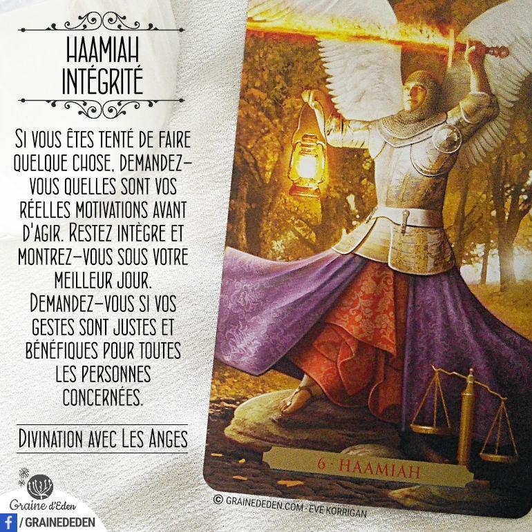 19 – Intégrité – Haamiah