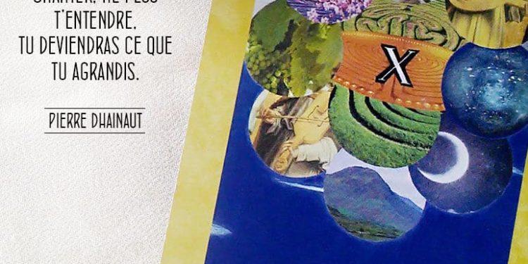 Les Trois Cheveux d'Or - L carte La Ferveur - Graine d'Eden Développement personnel, spiritualité, tarots et oracles divinatoires, Bibliothèques des Oracles, avis, présentation, review