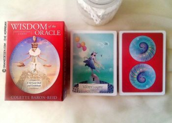 Wisdom of the Oracle de Colette Baron-Reid - Graine d'Eden Développement personnel, spiritualité, tarots et oracles divinatoires, Bibliothèques des Oracles, avis, présentation, review