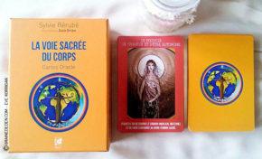 Les cartes Oracle La Voie Sacrée du Corps de Sylvie Bérubé