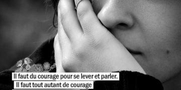 Il faut du courage pour se lever et parler. Il faut tout autant de courage pour s'asseoir et écouter. - WINSTON CHURCHILL - Graine d'Eden Citation
