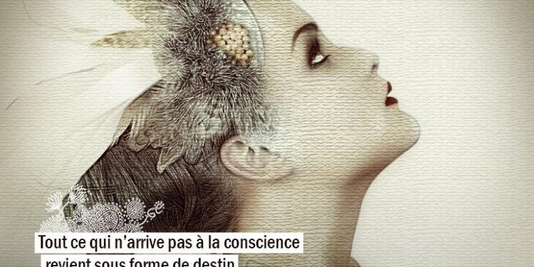 Tout ce qui n'arrive pas à la conscience revient sous forme de destin. - CARL G. JUNG - Graine d'Eden Citation