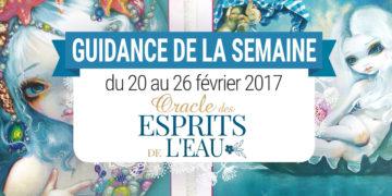 20 au 26 février 2017 - Votre guidance de la semaine avec Oracle des Esprits de l'Eau de Jasmine Becket-Griffith - Graine d'Eden Tarots et Oracles divinatoires - avis, review, présentations