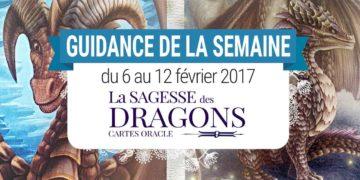 6 au 12 février 2017 - Votre guidance de la semaine avec l'Oracle La Sagesse des Dragons de Christine Arana Fader - Graine d'Eden Tarots et Oracles divinatoires - avis, review, présentations
