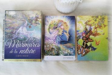 Cartes Oracle Murmures de la Nature de Angela Hartfield
