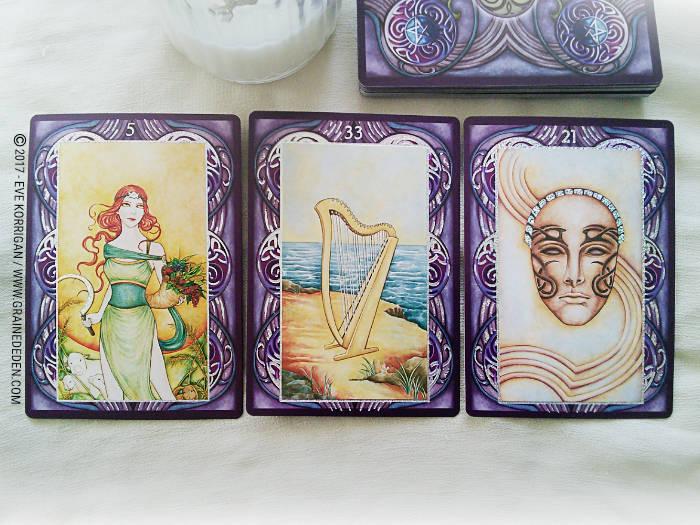 Wiccan Wicca Oracle cards de Lunaea Wheaterstone et Nada Mesar - Graine d'Eden Développement personnel, spiritualité, tarots et oracles divinatoires, Bibliothèques des Oracles, avis, présentation, review