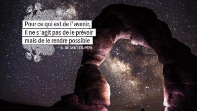 Pour ce qui est de l'avenir, il ne s'agit pas de le prévoir mais de le rendre possible. - ANTOINE DE SAINT EXUPERY - Graine d'Eden Citation