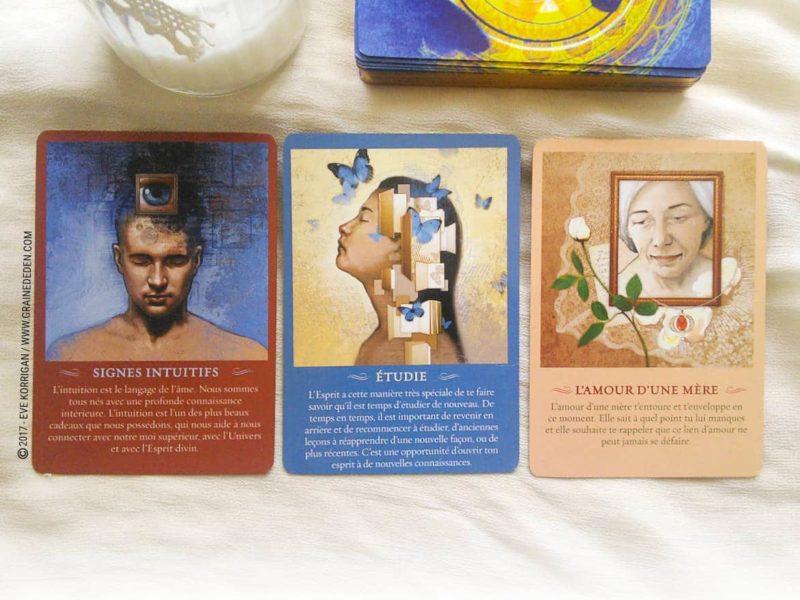 Messages de l'Esprit cartes Oracle de John Holland - Graine d'Eden Développement personnel, spiritualité, tarots et oracles divinatoires, Bibliothèques des Oracles, avis, présentation, review , revue
