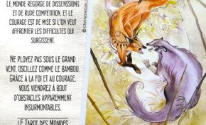 7 de Bâton - Foi et courage