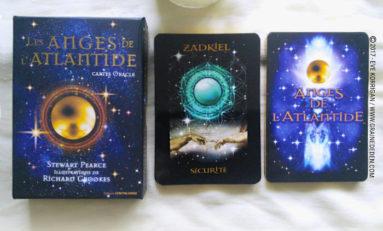 Les Cartes Oracle Les Anges de L'Atlantide de Stewart Pearce