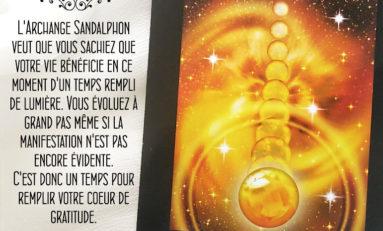 Archange Sandalphon - Evolution
