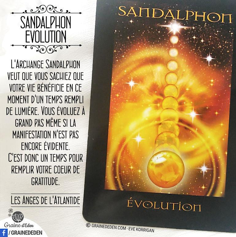 Archange Sandalphon – Evolution
