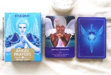 Angel Prayers Oracle Cards de Kyle Gray - Graine d'Eden Développement personnel, spiritualité, tarots et oracles divinatoires, Bibliothèques des Oracles, avis, présentation, review , revue