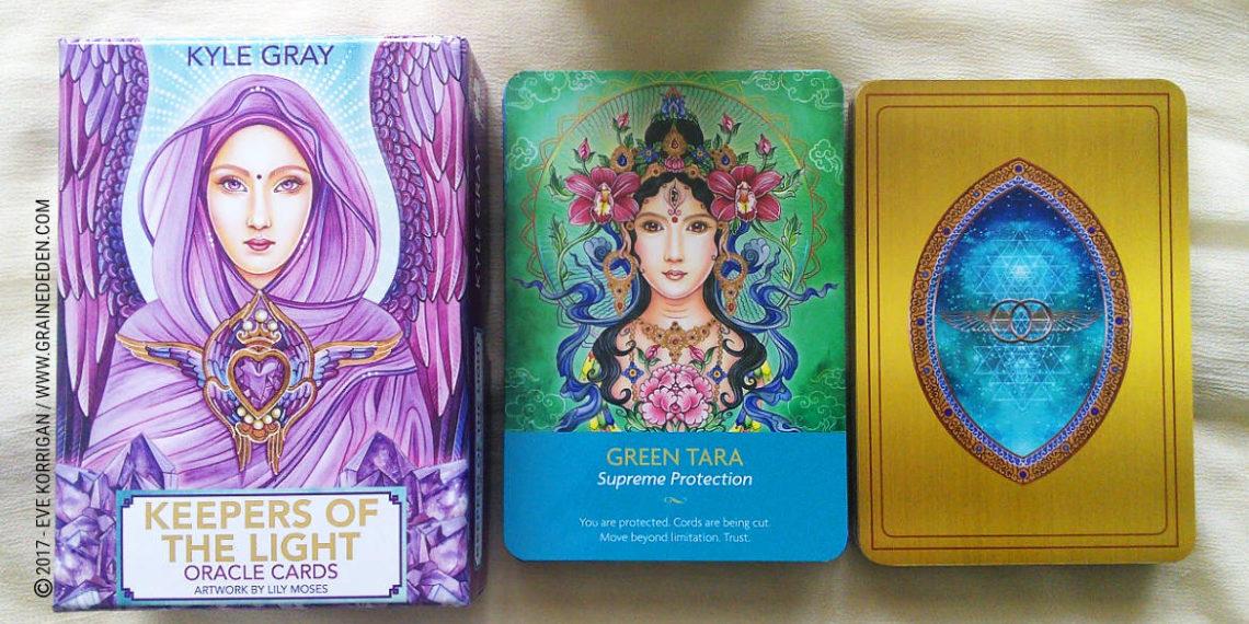 Keepers of The Light Oracle Cards de Kyle Gray et Lily Moses - Graine d'Eden Développement personnel, spiritualité, tarots et oracles divinatoires, Bibliothèques des Oracles, avis, présentation, review , revue