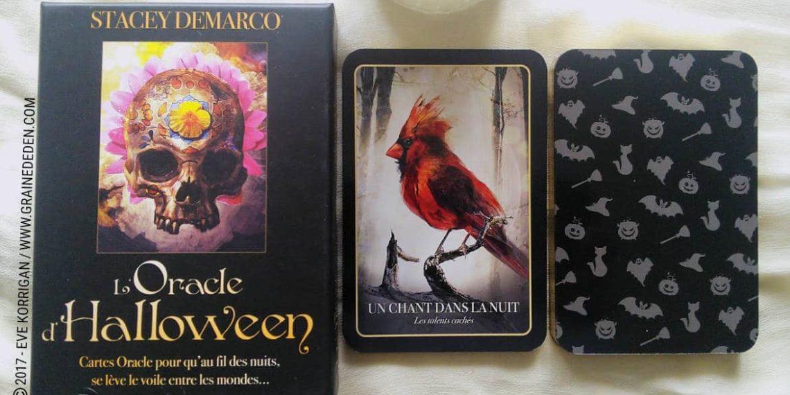 L'Oracle d'Halloween de Stacey Demarco - Graine d'Eden Développement personnel, spiritualité, tarots et oracles divinatoires, Bibliothèques des Oracles, avis, présentation, review , revue