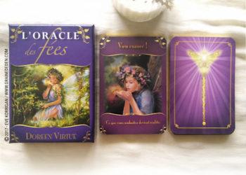 L'Oracle des Fées de Doreen Virtue - Graine d'Eden Développement personnel, spiritualité, tarots et oracles divinatoires, Bibliothèques des Oracles, avis, présentation, review , revue