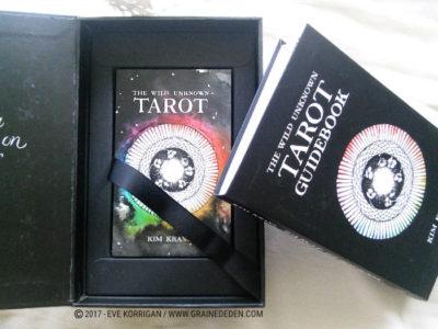 The Wild Unknown Tarot deck de Kim Krans - Graine d'Eden Développement personnel, spiritualité, tarots et oracles divinatoires, Bibliothèques des Oracles, avis, présentation, review , revue