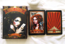 Divine Circus Oracle Cards de Alana Fairchild - Graine d'Eden Développement personnel, spiritualité, tarots et oracles divinatoires, Bibliothèques des Oracles, avis, présentation, review , revue