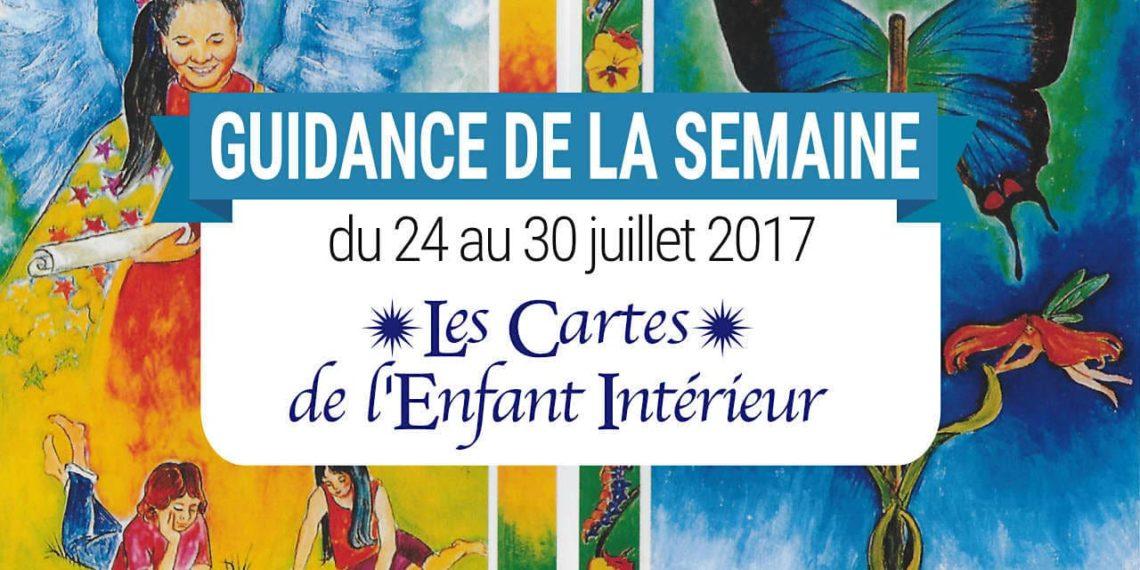24 au 30 juillet 2017 - Votre guidance de la semaine avec Les Cartes de l'Enfant Intérieur de Isha et Mark Lerner - Graine d'Eden Tarots et Oracles divinatoires - avis, review, présentations
