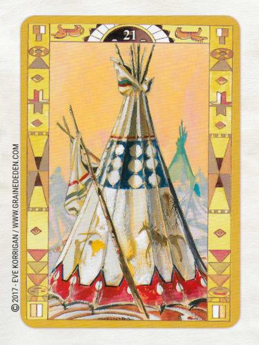 L'Oracle des Indiens d'Amérique de Laura Tuan - Découvrez cet Oracle dans la Bibliothèque des Oracles divinatoires. - Graine d'Eden Développement personnel, spiritualité, tarots et oracles divinatoires, Bibliothèques des Oracles, avis, présentation, review , revue