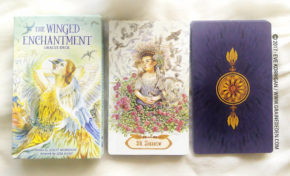 The Winged Enchantment Oracle Deck de Lisa Hunt et Lesley Morrison