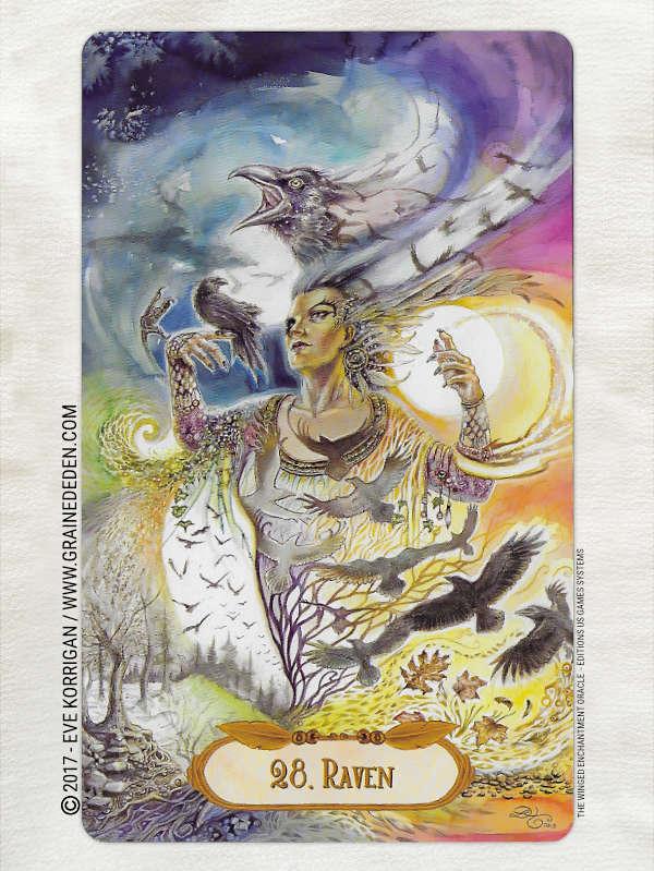 The Winged Enchantment Oracle Deck de Lisa Hunt et Lesley Morrison - Graine d'Eden Développement personnel, spiritualité, tarots et oracles divinatoires, Bibliothèques des Oracles, avis, présentation, review , revue