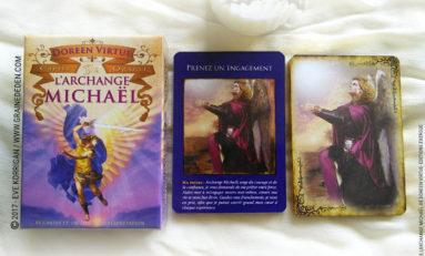 Cartes Oracle L'Archange Michaël de Doreen Virtue