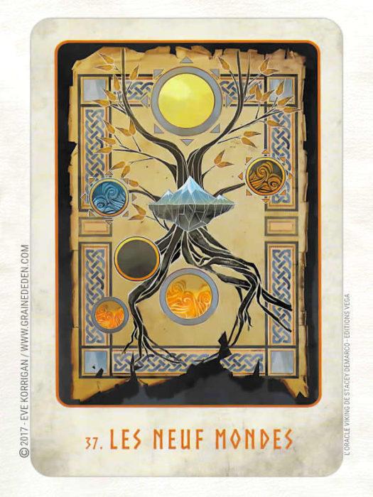 L'Oracle Viking de Stacey Demarco et Jimmy Manton - Graine d'Eden Développement personnel, spiritualité, tarots et oracles divinatoires, Bibliothèques des Oracles, avis, présentation, review , revue